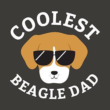 Coolest Beagle Dad by cartoonbeing