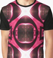 Abstract Art - Fluid Art - Mandala Graphic T-Shirt