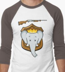 Trophy Babar Men's Baseball ¾ T-Shirt