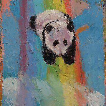 Panda Rainbow by michaelcreese