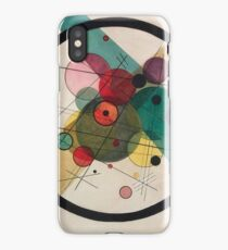 KANDINSKY, Circles in a Circle, 1923 iPhone Case/Skin