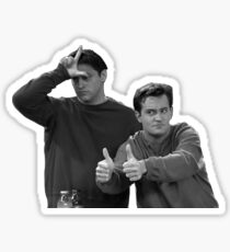 Chandler Joey Sticker