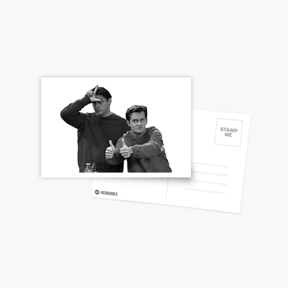 Chandler Joey Postcard