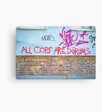 All cops Canvas Print