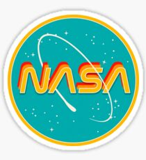 NASA RETRO Sticker