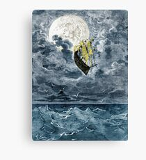 A Voyage To The Moon Canvas Print