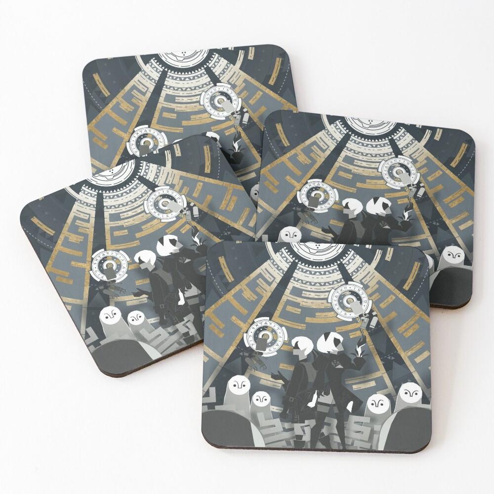 Nier: Automata Coasters (Set of 4)