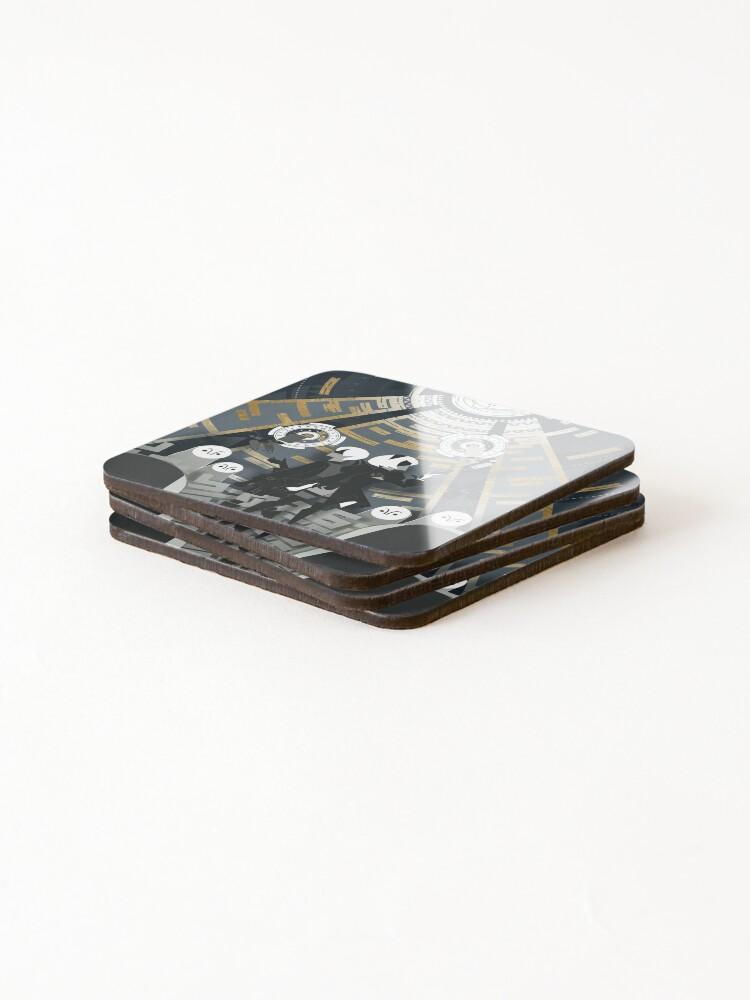 Alternate view of Nier: Automata Coasters (Set of 4)