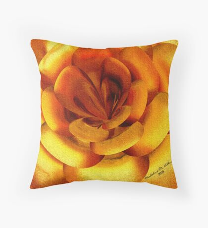 ~ INCENDIA ROSE ~ Throw Pillow