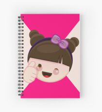 Thumbs up Harajuku Girl Spiral Notebook