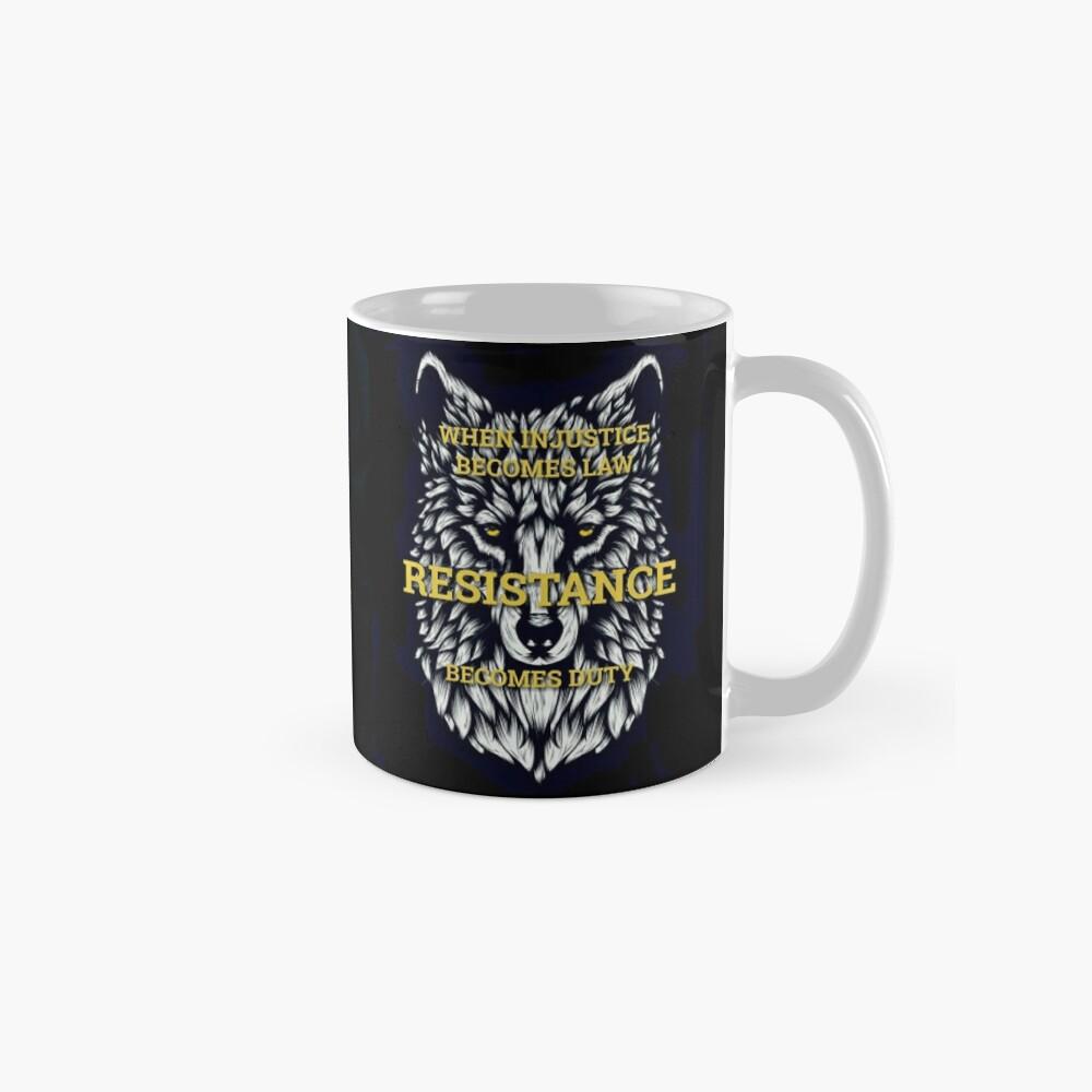 Resistance Wolf  Classic Mug