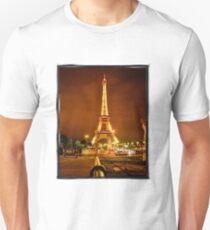 Lit EIffeltower Unisex T-Shirt