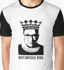 NOTORIOUS RBG - Ruth Bader Ginsberg Graphic T-Shirt