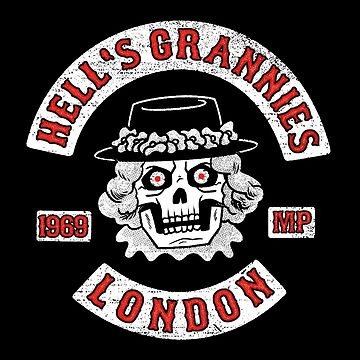 Hell's Grannies London patch by hellfinger