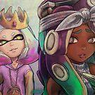 Pearl + Marina (Biggie & Tupac tribute) by Dice9633