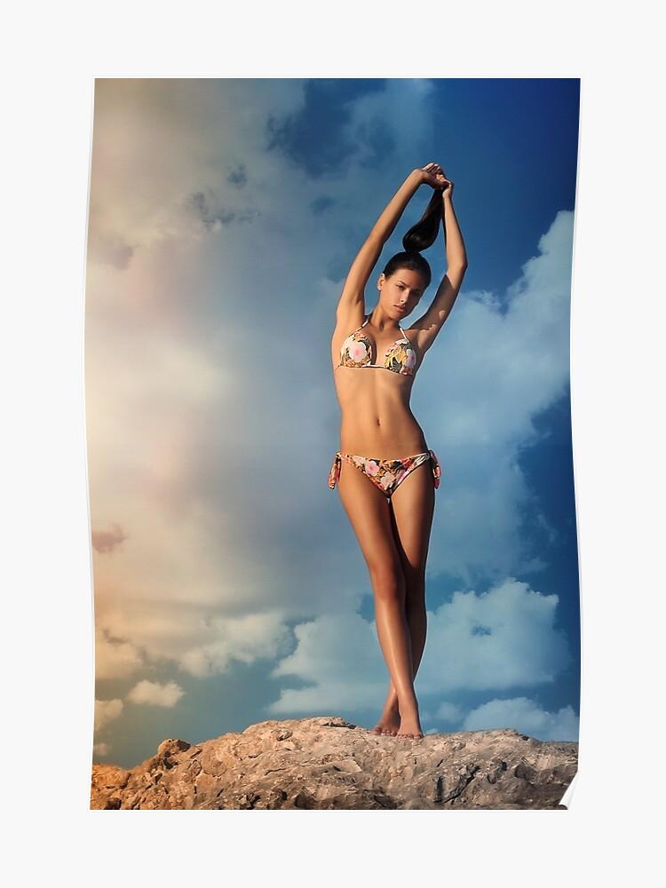 Chica Bikini SolPóster Chica Bikini SolPóster Chica 35Aj4cqSRL