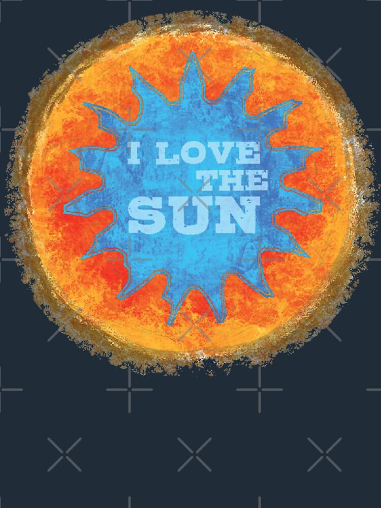 i love the sun von Periartwork