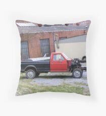 Snub Nose Truck Throw Pillow