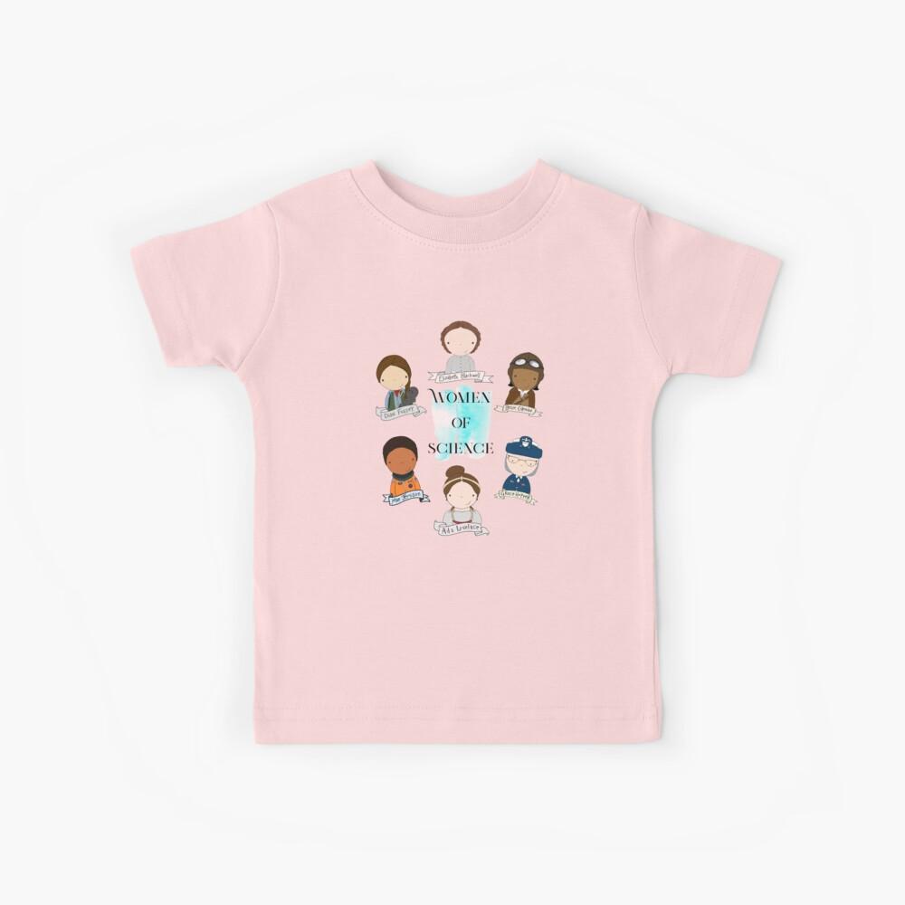 Frauen der Wissenschaft Kinder T-Shirt