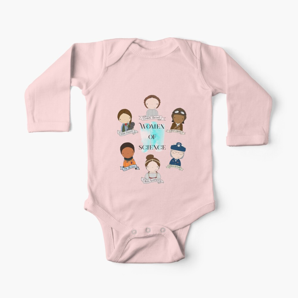 Women of Science Baby One-Piece