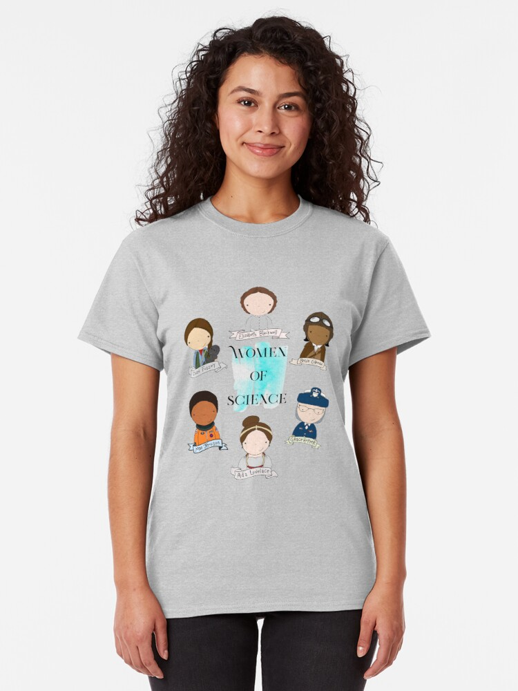 Alternate view of Women of Science Classic T-Shirt