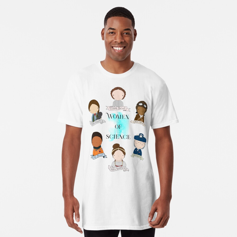 Women of Science Long T-Shirt