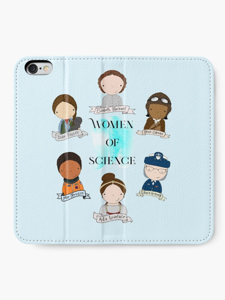Alternate view of Women of Science iPhone Wallet