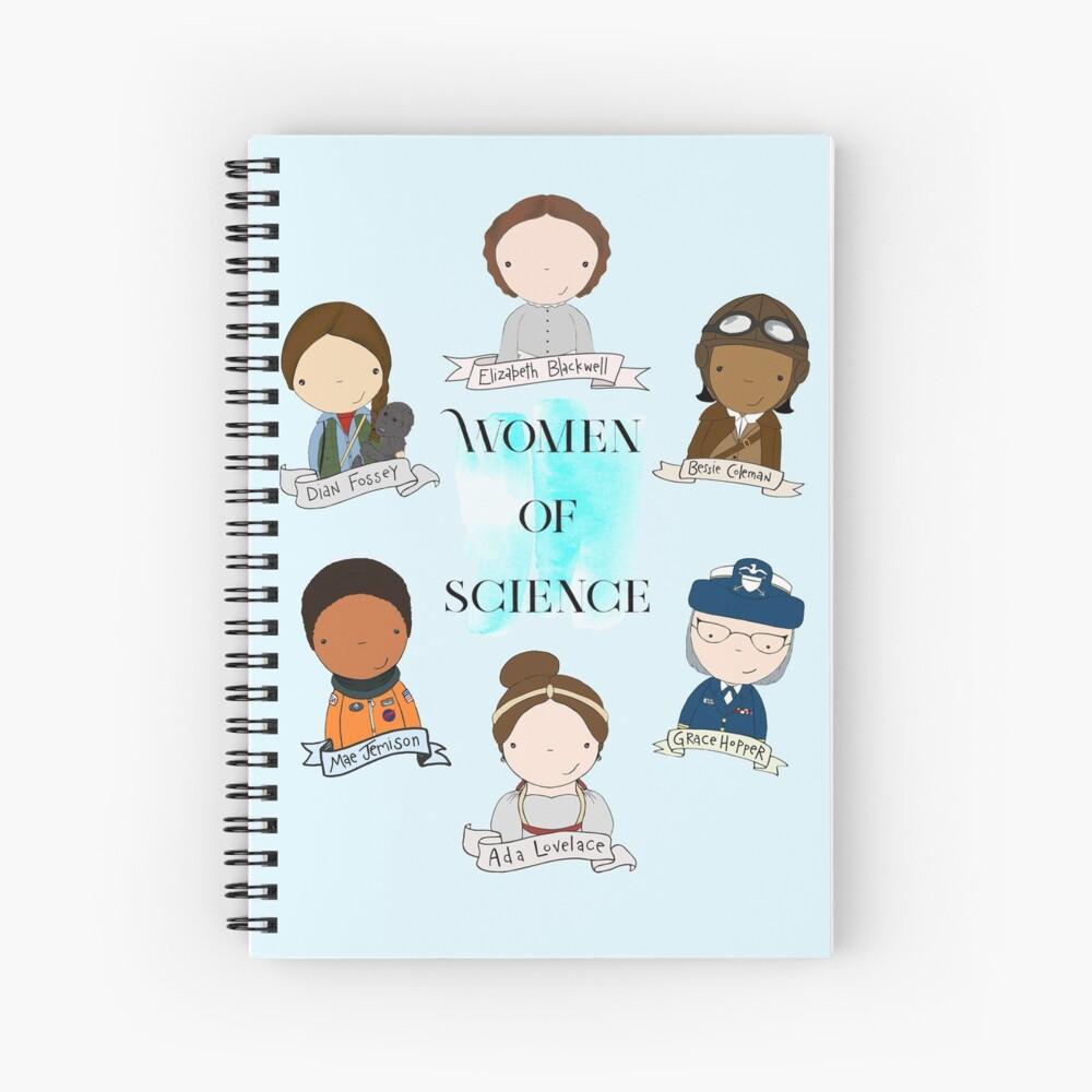 Women of Science Spiral Notebook