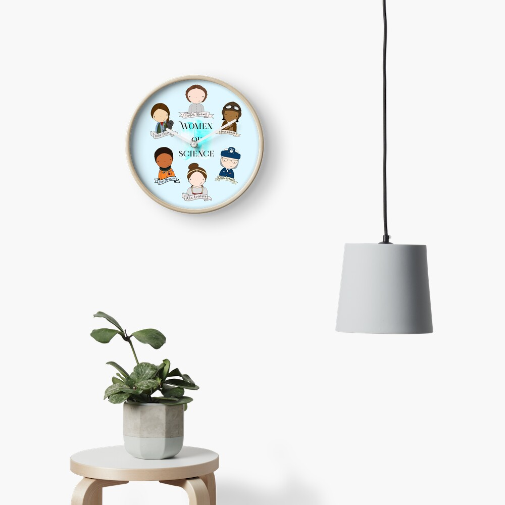 Women of Science Clock