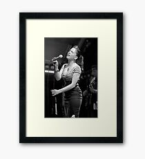 Imelda May Framed Print