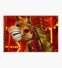 Carnival Horse Photographic Print