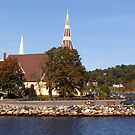 St. James Anglican Church-Mahone Bay by George Cousins
