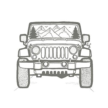 Jeep Adventure (DRK GRN) by irishkate