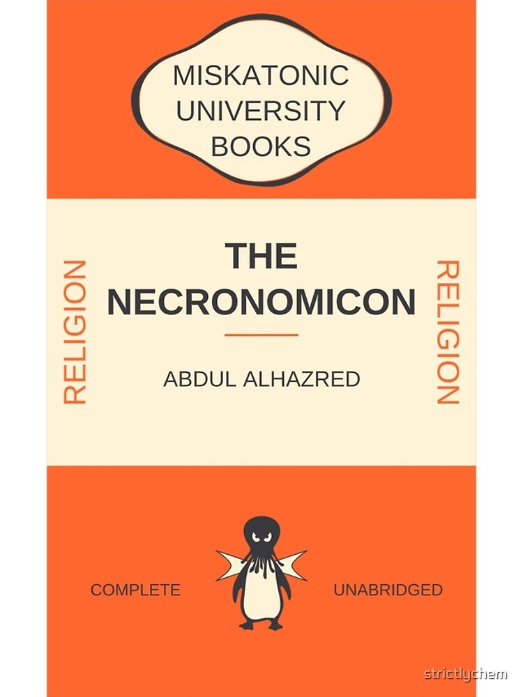 Necronomicon? de strictlychem