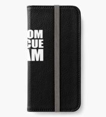 Groom Rescue Team V9 iPhone Wallet/Case/Skin