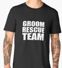 Groom Rescue Team V9 Men's Premium T-Shirt