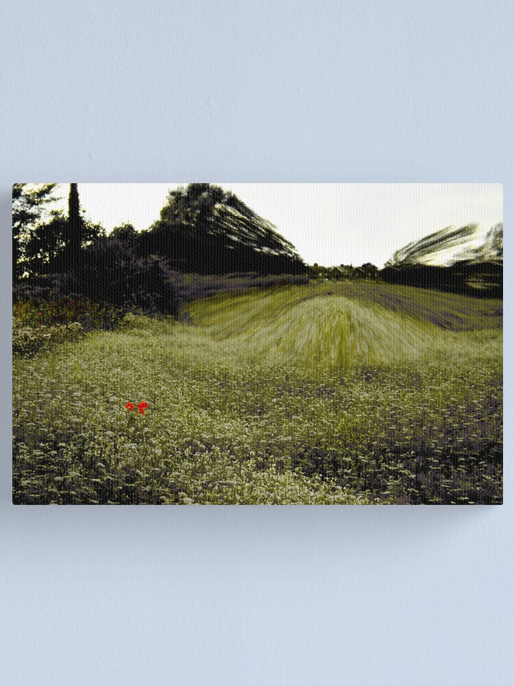 Alternate view of Magic Mirror in the Meadow Canvas Print