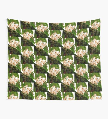 Hoya flowers Wall Tapestry