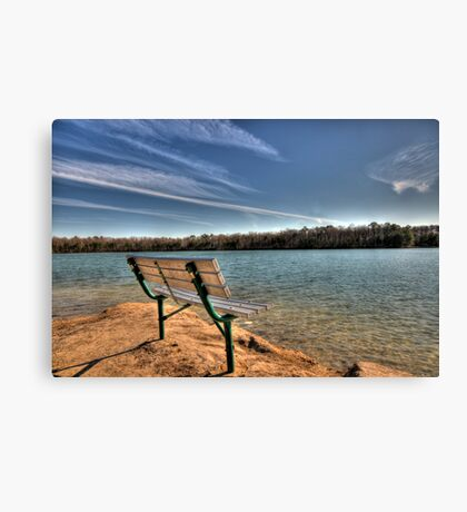 Sit and Relax Canvas Print