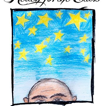The Bald & The Beautiful - Reach For The Stars - T Shirt Design by MusoMagicMerch
