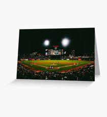 San Francisco Stadium  Greeting Card