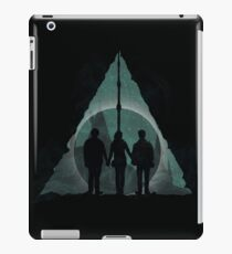 Hallows (Black) iPad Case/Skin
