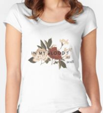 Shawn Mendes In My Blood Women's Fitted Scoop T-Shirt
