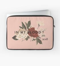 Shawn Mendes In My Blood Laptop Sleeve