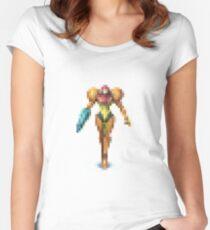 Pixel Art 10 Women's Fitted Scoop T-Shirt