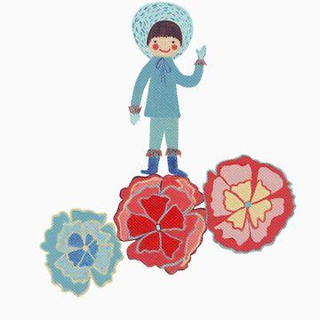 eskimo Flower by catherineinsch