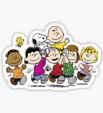 Peanuts gang Sticker