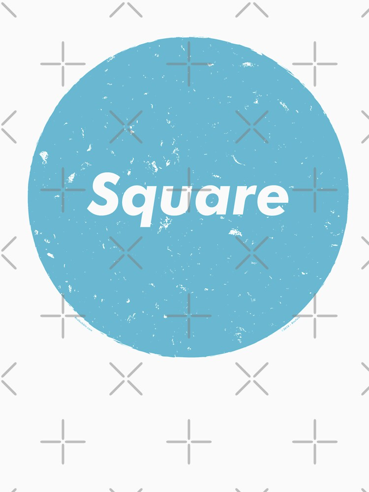 The word square has lost all meaning (Blue) by RoufXis
