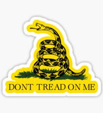 Gadsden flag Don't tread on me Libertarian 2nd amendment 2A yellow flag HD HIGH QUALITY ONLINE STORE Sticker