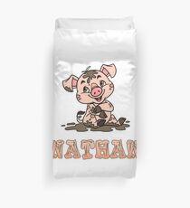 Nathan Piggy Duvet Cover